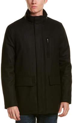 Cole Haan Milton Wool-Blend Coat