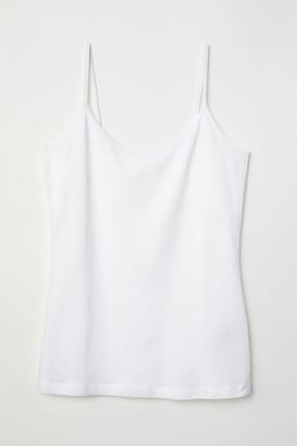 H&M Basic Camisole Top - White