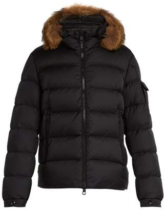 Moncler Marque Quilted Down Jacket - Mens - Black