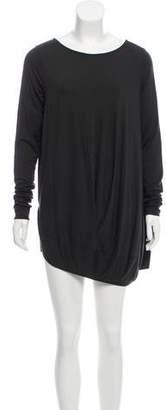 Zero Maria Cornejo Long Sleeve Mini Dress