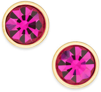 Kate Spade Gold-Tone Crystal Stud Earrings