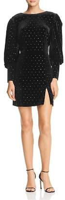 Rebecca Minkoff Gwen Embellished Velvet Dress