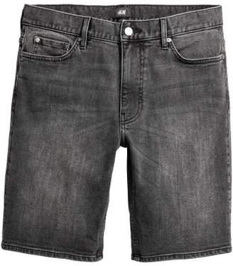H&M Denim Shorts - Black