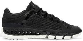 adidas by Stella McCartney Cc Revolution Mesh-Paneled Stretch-Knit Sneakers