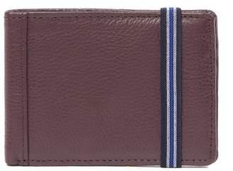 1901 Hudson Leather Slim Bifold Wallet