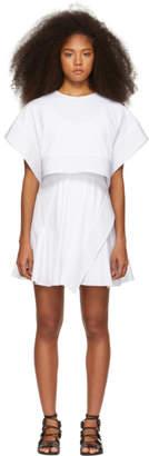 3.1 Phillip Lim White Box Crop Top Dress