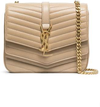 Saint Laurent camel montaigne quilted leather shoulder bag