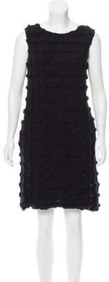Dolce & Gabbana Textured Knee-Length Dress w/ Tags