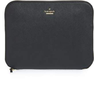 Kate Spade Saffiano Leather Organization Tablet Sleeve