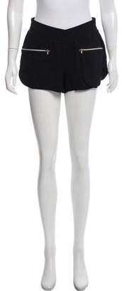 L'Agence Lightweight Mini Shorts