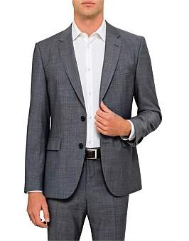 HUGO BOSS Jeffrey Wool End On End Suit Jacket
