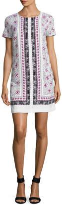 CeCe Women's Kayte Floral Shift Dress