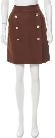 Marc by Marc Jacobs Button Up Knee-Length Skirt