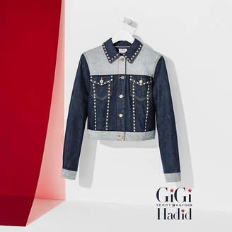 Tommy Hilfiger Cropped Denim Jacket Gigi Hadid