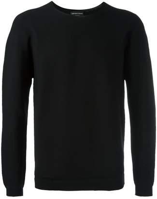 Emporio Armani plain sweatshirt