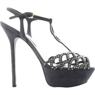 Sergio Rossi Leather sandal