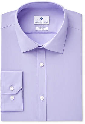 Ryan Seacrest Distinction Men's Ultimate Extended Sizing Slim-Fit Non-Iron Performance Stretch Dress Shirt