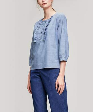 A.P.C. Cleo Frill Blouse