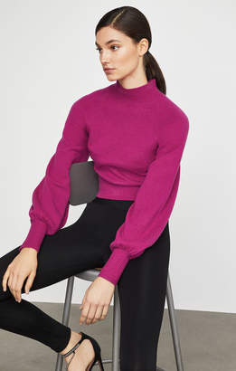 BCBGMAXAZRIA Turtleneck Cropped Sweater