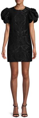Jill Stuart Blanca Jacquard Dress
