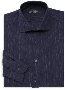 Corneliani Modern-Fit Denim Dress Shirt
