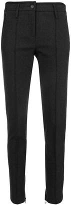 Cambio creased skinny trousers