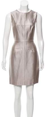 J. Mendel Sleeveless Brocade Dress