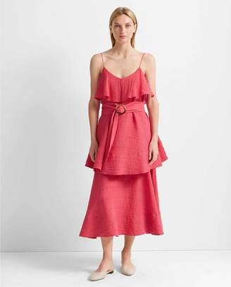 Club Monaco Tiered Maxi Dress