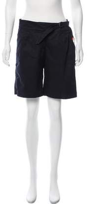 Burberry Mid-Rise Knee-Length Shorts