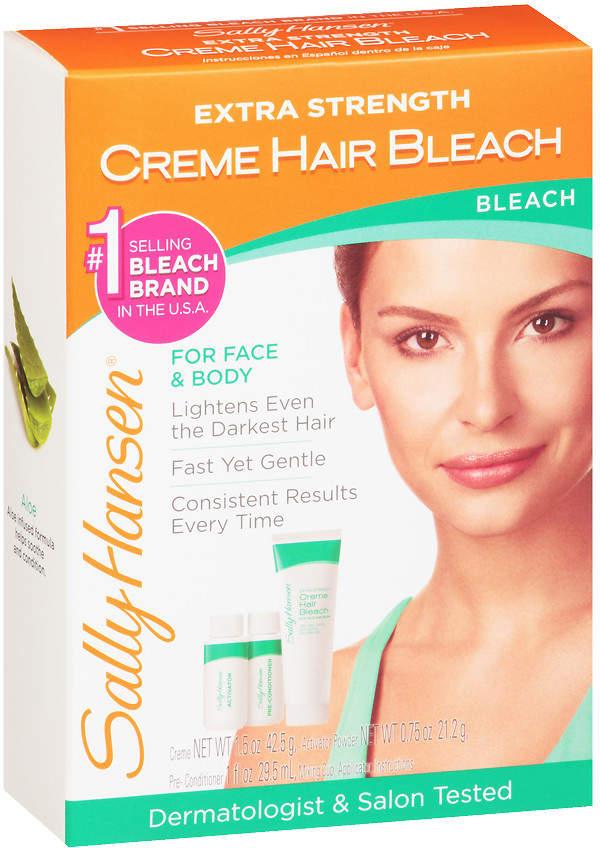 Sally Hansen Creme Hair Bleach Kit Extra Strength