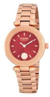 Versace Water Resistant Stainless Steel Bracelet Watch