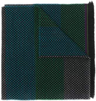 Paul Smith embroidered scarf