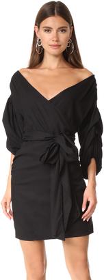 MLM LABEL Salo Wrap Dress $187 thestylecure.com