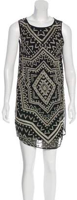 Mara Hoffman Beaded Mini Dress