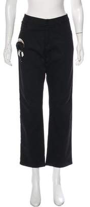 Fendi Mid-Rise Straight-Leg Karlito Jeans