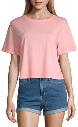 Arizona Crew Neck Short Sleeve T-Shirt Juniors