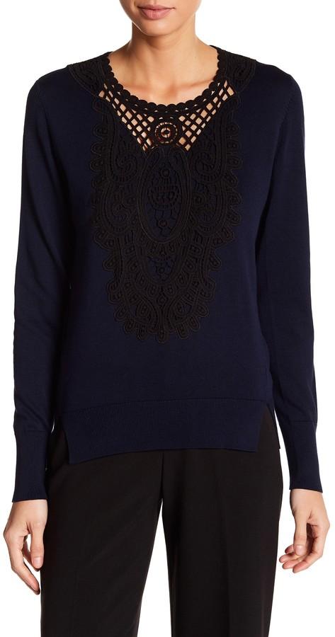Kobi Halperin Madeline Crew Neck Pullover Sweater 2