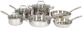 Oneida Hallmark 10 Piece Stainless Steel Cookware Set