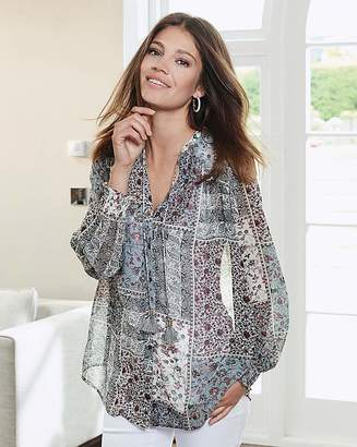 a5619bc5949 Showing 68 Plus Size Clothing filtered to 1 brand. at Fashion World ·  Together Patchwork Print Blouse