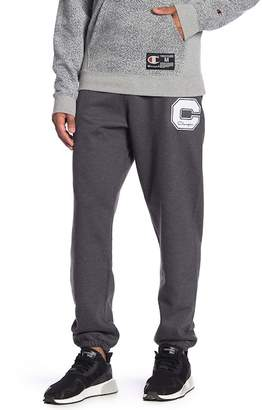 Champion Logo Patch Sweatpants