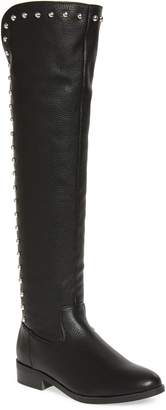 Very Volatile Akita Studded Over the Knee Boot