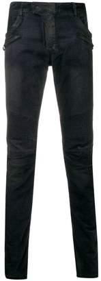 Balmain slim denim biker jeans