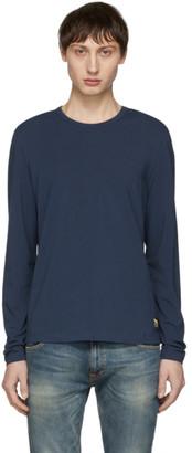 Tiger of Sweden Blue Dolin Long Sleeve T-Shirt