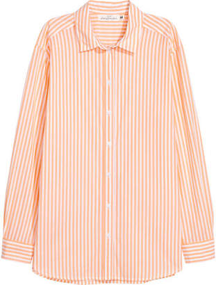 H&M Cotton Shirt - Orange