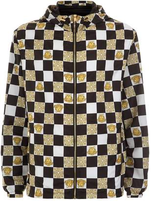 Versace Checkerboard Windbreaker Jacket