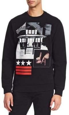 Givenchy LA House Cotton Sweatshirt