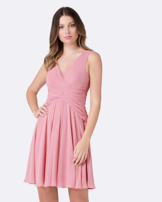 Forever New Kayleigh Twist Skater Dress