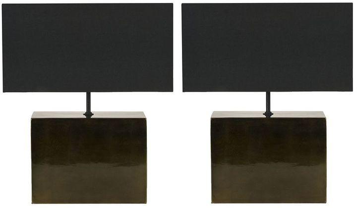 Safavieh 2-pc. Contemporary Table Lamp Set