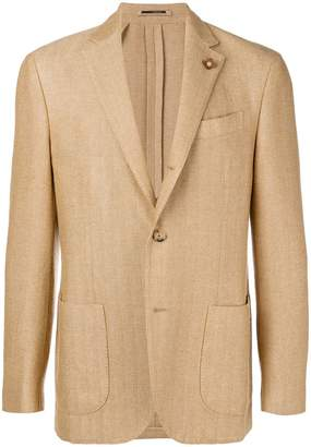 Lardini classic single-breasted blazer