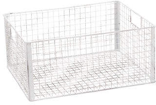 Large Lattice Metal Storage Basket
